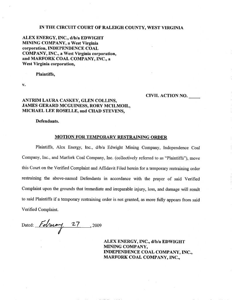 Temporary Restraining Order p.2
